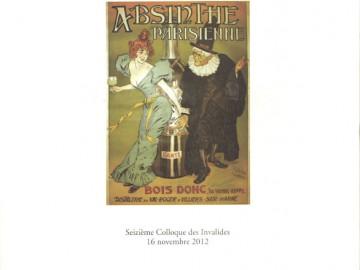 Les Actes du Colloque des Invalides 2012 – Alcools
