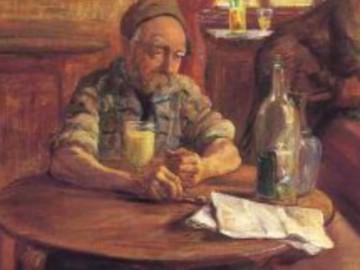 Le Buveur d'Absinthe par P.G Jeanniot