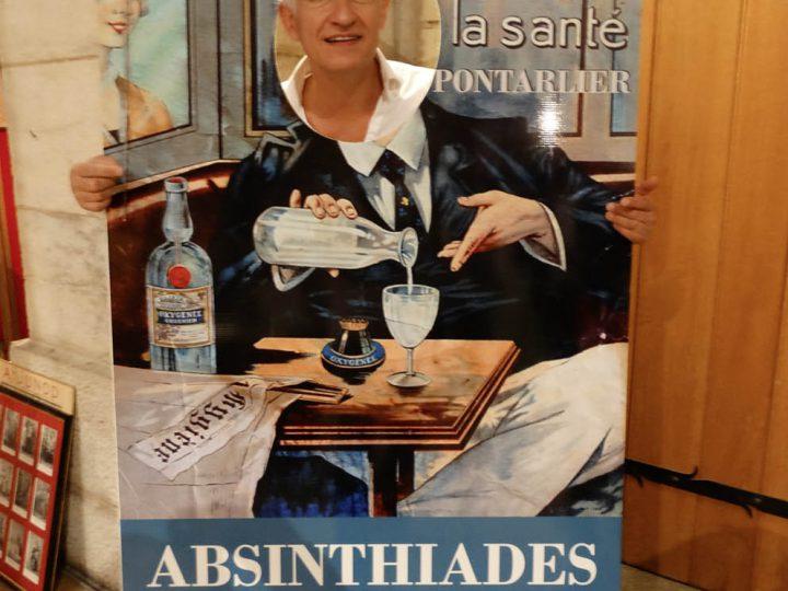 Benoît Noël, ambassadeur de l'absinthe (2016)