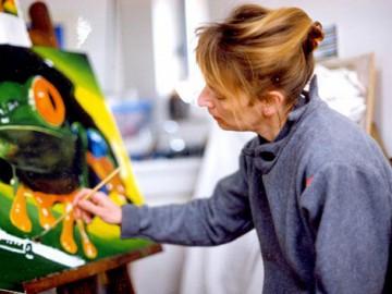 Rencontre avec Dorothée Martin du Mesnil-Buisson – peintre (2015)