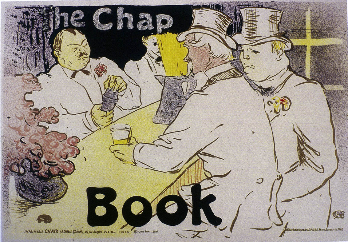 1896 Lautrec The Chap Book affiche Coll Part