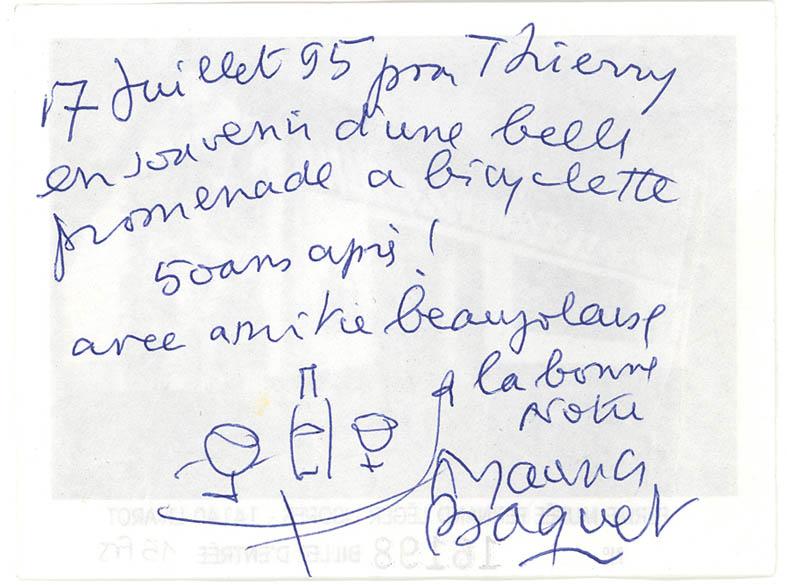 1995 Baquet Coll Marie-Hélène Giraud
